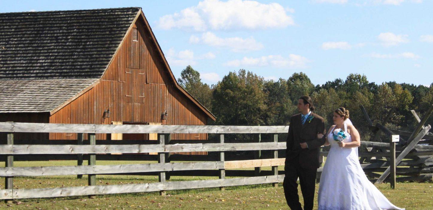 Weddings Pamplin Historical Park